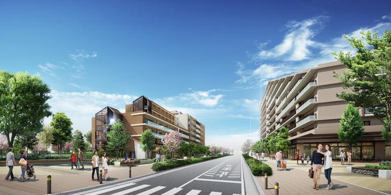 十 市場 クレール 日 レジデンス 横浜 十日市場プロジェクト